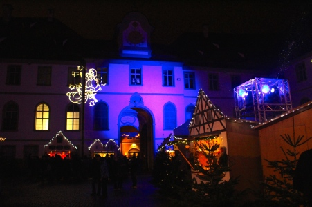 Fuessen Christmas Market St Mang's Abbey