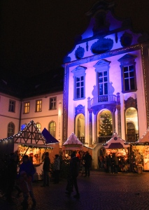 Fuessen Christmas Market, St Mang's Abbey