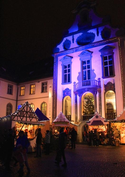 Fuessen Christmas Market, St Mang's Abbey