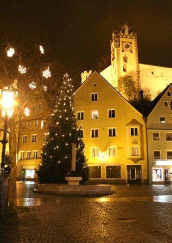 Clock Tower, Am Brotmarkt, Fuessen