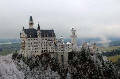 Neuschwanstein Castle from Marienbrucke