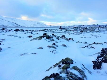 Beautiful scenery around Reykjavik