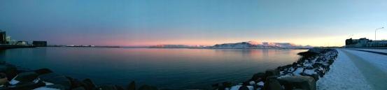 Reykjavik Sea front