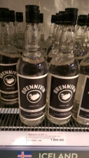 Brennivin - the local drink