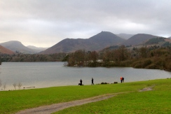 First glimpse of Derwentwater