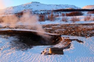 Geysir Geothermal Field - Litli Geysir