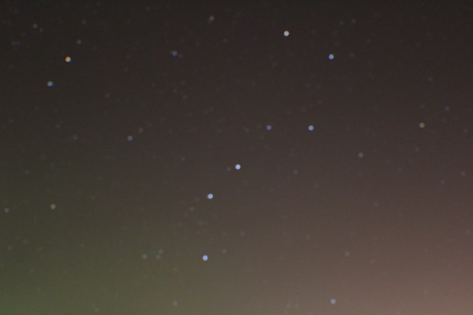 The Plough star constellation