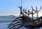 Sun Voyager sculpture