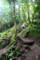 Cerro Chato hike - 2 hours of uphill