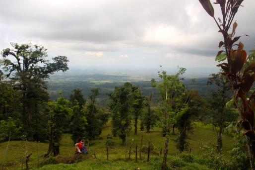 View over La Fortuna