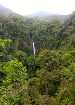 Fortuna Waterfall - just a 500 step walk down to after a 6 hour hike up Cerro Chato