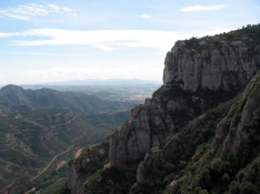 View from Montserrat Monastery