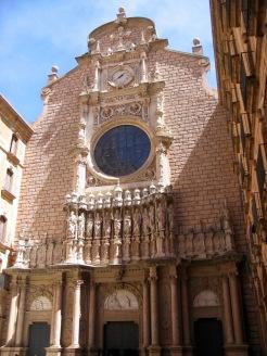 Entrance to Basilica, Montserrat Monastery