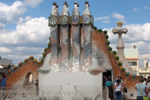 Roof of Casa Batllo