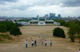 Royal Naval College London & view over the city