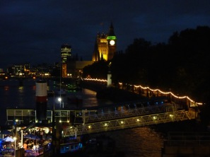 Tattersall Castle Bar Boat & Houses of Parliament