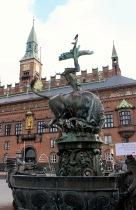 Dragon Fountain & Radhaus