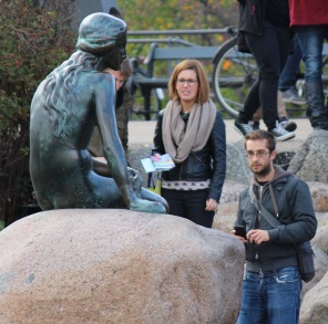 Little Mermaid statue - looks like other people may agree with me!