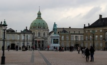 Frederik's Church & Amalienborg Palace