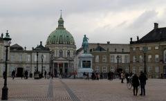 Frederik's Church & Amalienborg Palace