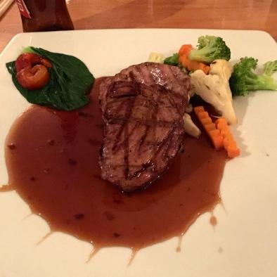 Yummy tuna stead, Tin Jo Restaurant
