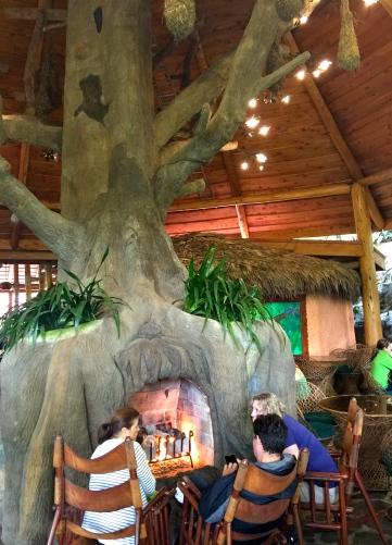 La Paz Waterfall Gardens Restaurant