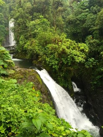 Magica Blanca (37 mts), Encantada (20 mtrs) & Escondida (3 mtrs) Waterfalls