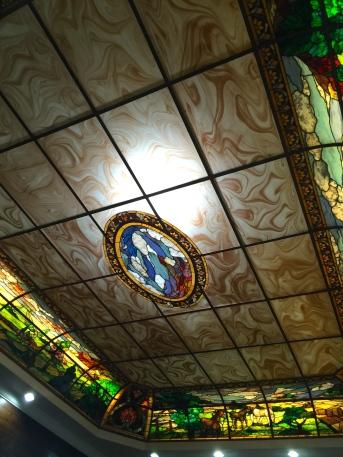Shrimp Shack ceiling, Puntarenas