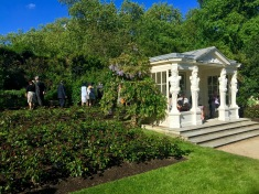 Buckingham Palace Rose Garden