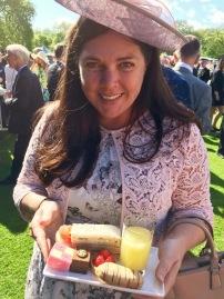 Buckingham Palace Garden Party afternoon tea