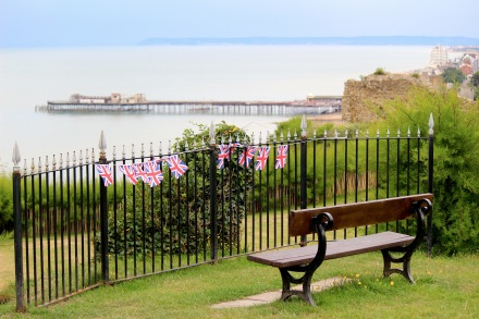 View from Hastings Castle