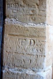 Medieval Grafitti, Bodiam Castle
