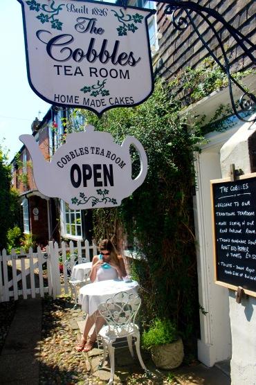 Cobbles Tea Room, Rye