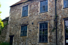 Old Monastery, Rye - is that a face at the window :-/