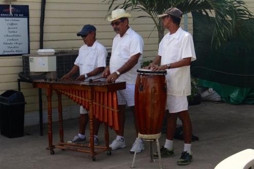 The calypso band