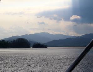 Journey back to mainland