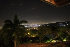 View of San Jose from Alto Hotel, Escazu