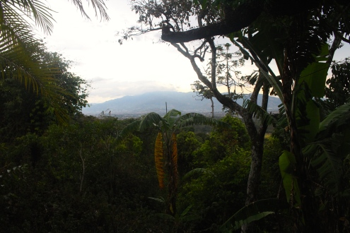 View over Alajuela town from Xandari Resort