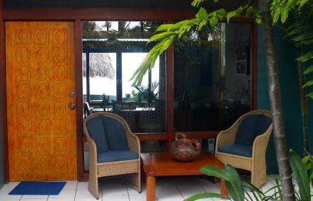 Front Garden of my villa, Xandari Resort