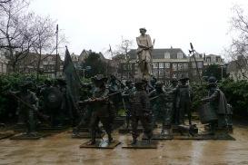 Night Watch Sculpture, Rembrandtplein