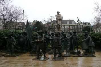 Night Watch Sculpture, Rembrandtplein