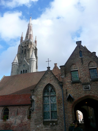 Sint-Janshospitaal (Old St Johns Hospital) & Onze-Lieue-Vrouwkerk (Church of Our Lady)