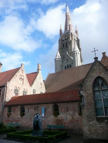 Sint-Janshospitall (Old St Johns Hospital) & Onze-Liewe-Vrouwkerk Spire
