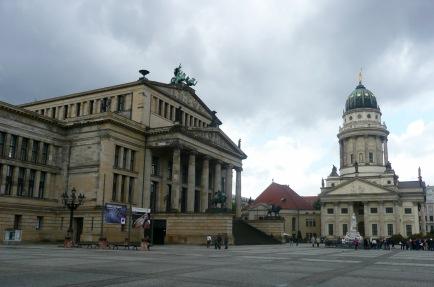 Franz Friedrichstadtkirche & St Hedwigs Cathedral