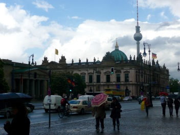 Zeugmas with Berliner Dom and Fernsehturm