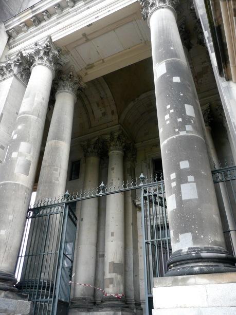 Berliner Dom, still with shrapnel marks