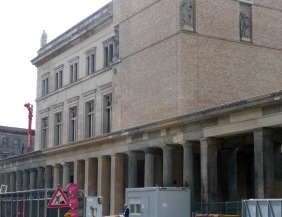 Pergamon Museum, still being rebuilt