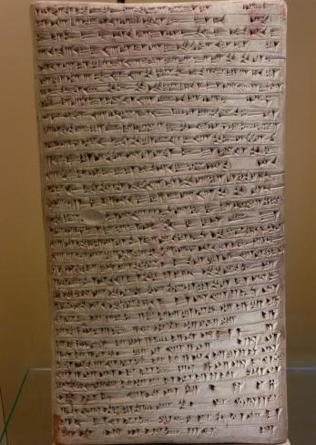 Tablet, Assyrian 13th c, Pergamon Museum