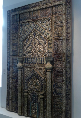 Mihrab from the Meydan-Mosque , Kaschan / Iran, 1226
