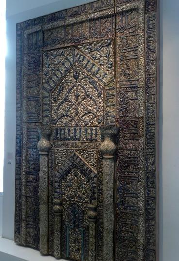 Mihrab from the Meydan-Mosque , Kaschan / Iran, 1226
